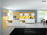 Gabinete de cozinha acrílico do MDF do lustro elevado novo da chegada 2016 (LCA)
