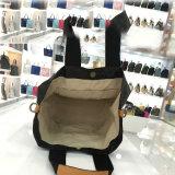 Cinco sacos de Tote interiores lavados do bolso do entalhe de Kraft das cores tamanho pequeno (A085-1)