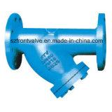 O ferro de molde/ferro Ductile flangeou Y-Filtro da extremidade