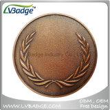 カスタム軍の平らな金属の挑戦硬貨