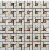 Mosaico de casa de materiales de construcción (FYSG046)