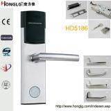 Fechamento de porta esperto eletrônico do hotel do cartão do RF do aço 304 inoxidável (HD5186)