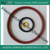Joint circulaire fait sur commande de cavité en caoutchouc de silicones