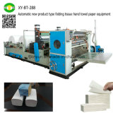 Tipo de produto novo automático equipamento de dobramento do papel de toalha de mão do tecido
