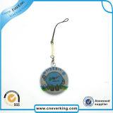 Sostenedor promocional del PVC Keychain del emblema del coche de los regalos