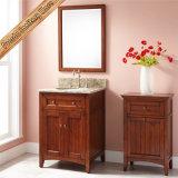 Тщета ванной комнаты твердой древесины, самомоднейший шкаф ванной комнаты