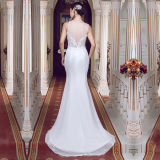 Real Photos Lace Tulle Detachable Skirt Wedding Dresses (TM-MS014)