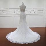 Qualitäts-Spitze-Nixe-Backless Brauthochzeits-Kleid