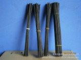 palillos negros del difusor de la caña de la fibra de poliester de 3.5m m
