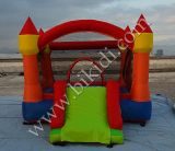 Used domestico Inflatable Mini Nylon Castles rimbalzante con Slide per Kids H1026