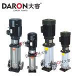 Pompe à plusieurs étages verticale d'acier inoxydable de lumière de série de Cdlf
