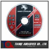 Disco sottile eccellente di taglio per acciaio inossidabile (Inox) 115X1X22.2