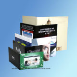 2.4inch Video Visitenkarte Video Greeting Card Video Advertizing Card für Promotion (ID2401)