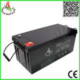 12V 200ah 태양 에너지 시스템을%s VRLA에 의하여 밀봉되는 납축 전지