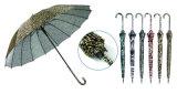 アニマル・スキンデザイン3フォールドの手動軽い傘(YS-3FM21083940R)