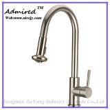 Faucet de água sanitário de bronze da cozinha dos mercadorias do pulverizador extraível o mais quente