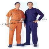 Uniforme de tissu de vêtements de travail de T/C avec la bonne qualité