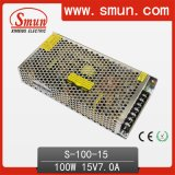 높은 Quality 100W 15V 6.7A Switch Power Supply S-100-15