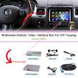 Auto-androider Navigations-Kasten für Video-Schnittstellen-Kasten VW-Touareg 8