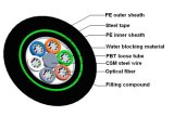 Antena de Gysty53 SZ y cable externo de la fibra óptica de la telecomunicación de la puerta del conducto