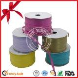 Venta caliente cinta metálica Polyerter para embalar con la Línea de Oro