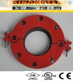 Dos encaixes Ductile do incêndio do ferro de ASTM A536 300psi flange Grooved