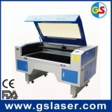 Hochwertige Textilgewebe CO2 Laser-Ausschnitt-Maschine GS1490 100W