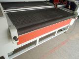 ткань 1800*1000mm автоматические подавая/гравировальный станок вырезывания лазера тканья