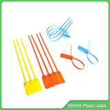 Selo plástico (JY500-3S), descartáveis Segurança Selos de plástico