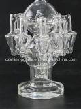 [فكتوري بريس] زجاجيّة فانوس شكل مع ناشر [رسكلر] [سموك بيب] زجاجيّة