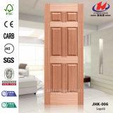 Tür-Haut des rote Eichen-Furnier-BlattHDF (JHK-006)