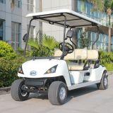 CE Certificated 4 Seat Electrice Golf Cart Dg-C4 con Customize Service