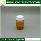 La bottiglia arancione della medicina dell'animale domestico 60ml con Pilfer la protezione della prova