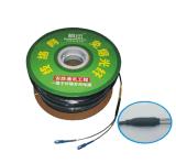 Fibra del CCTV - memoria di singolo modo 2 dei cavi ottici con il connettore