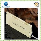 Concevoir bon marché les étiquettes de papier de coup de vêtement de couleur (JP-HT004)