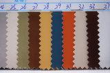 Couro de Microfiber da grão do couro para sapatas, partes superiores, sacos (HS-Y07)