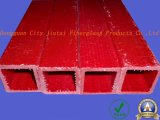 Fibra de vidrio de aislamiento térmico (FRP) Tubo cuadrado