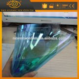 Heat Reduction Blue to Green Chameleon Car Window Tinting Film