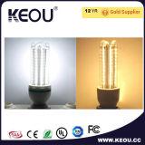 투명하거나 명확하고 또는 서리로 덥는 유백색 덮개 차가운 백색 LED 옥수수 전구