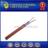 Cable eléctrico del instrumento de alta temperatura del caucho 0.75mm2