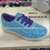 Печатание девушки цветет тапка ботинок спорта отдыха ботинок способа (HH16-3)