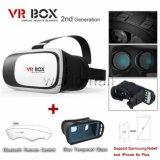 Professionele Vr Doos II 2 3D Glazen van de Werkelijkheid van Vrbox van Glazen Virtuele 3D Video met Verre Facultatief