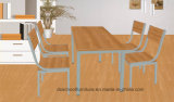 鋼鉄Frame Home Furniture Dining TableおよびChair