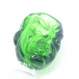 El último vidrio sólido los tazones de fuente de cristal gigantes del verde increíble del armatoste para los tubos con la junta masculina Bw-028 de 18.8m m y de 14.4m m