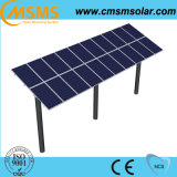 Fundação montada terra dos painéis solares