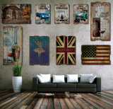 신제품 Printting 표시 가정 훈장을%s 나무로 되는 벽 커튼 Deco