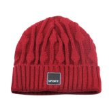 Chapéu quente novo do Toque do Beanie do Knit de 2017 lãs da venda 100%