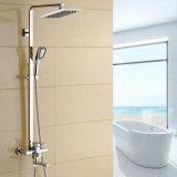 Badezimmer-Luxuxdusche-Set