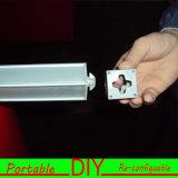 Affichage modulaire flexible portatif rentable fait sur commande d'objet exposé d'exposition commerciale commerciale de DIY (E33)