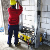 構築機械または具体的なミキサーの壁のレンダリング機械